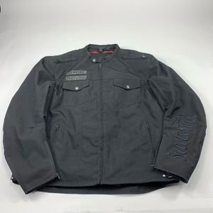 Street and steel anarchy jacket motorcycle